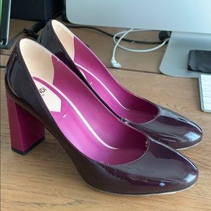 Fendi Pumps / purple/ 37
